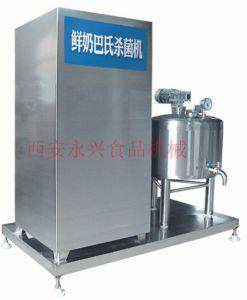 巴氏滅菌機自動溫控,變頻器調速,自動化流水線程度高
