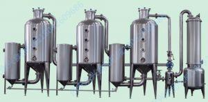 三效濃縮器三效真空濃縮器適用於果蔬汁及眾多水溶液物料的縮